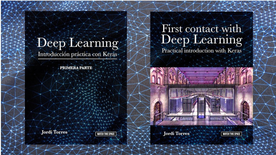 Banner de los libros de inteligencia artificial y deep learning