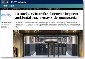 Inteligencia Artificial y CO2